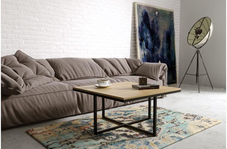 Kwadratowy stolik do salonu